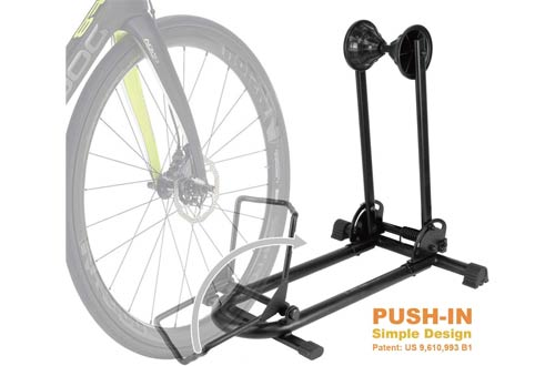 BIKEHAND Floor Parking Bike Stands for Mountain and Road Bike In Garage