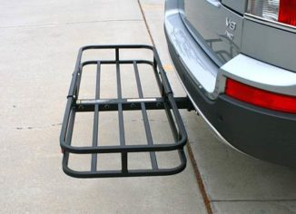 MaxxHaul 70107 Compact Hitch Cargo Carriers for Hitch Receiver