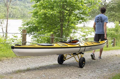 Suspenz Smart Airless DLX Kayak Carts