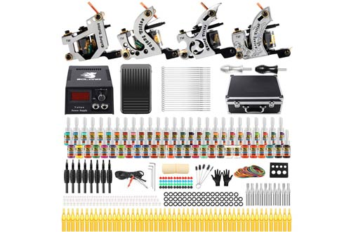 Solong Tattoo Complete Starter Beginner Tattoo Machine Kit