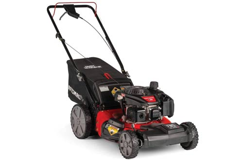 CRAFTSMAN M215 159cc High-Wheeled FWD Self-Propelled Gas-Powered Lawn Mowers with Bagger