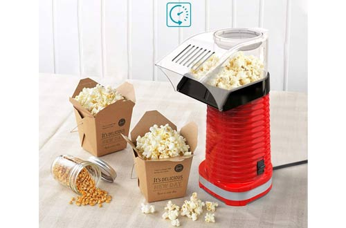 Be1 High-Efficiency Hot Air Popcorn Poppers