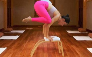 THUNDESK Yoga Inversion Chairs - Headstand Bench Upside Down Chair