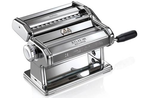 Marcato Atlas 180 Pasta Makers with Cutter, Hand Crank & Instructions