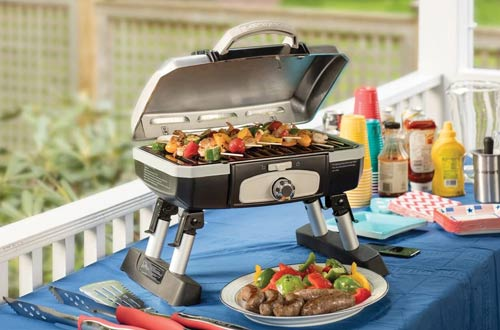 Cuisinart CGG-180TS Portable Tabletop Gas Grill
