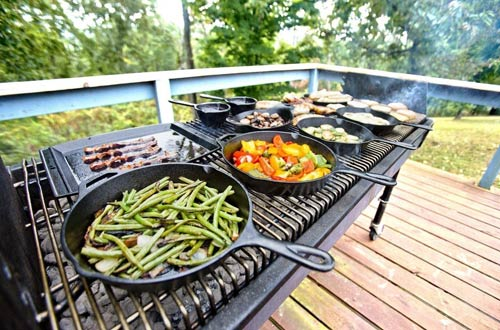 Lodge Manufacturing Company Lodge Cast Iron Grill Pans