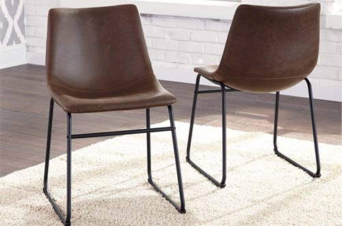 ModernLeather Dining Chairs