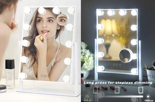 Hollywood Mirror Vanity with Light