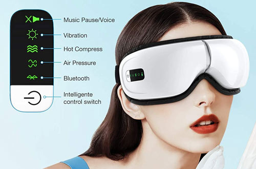 HOMIEE Eye Massagers Improving Blood Circulation & Sleeping Quality
