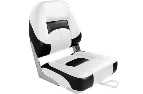 Leader Accessories New Low Back Folding Boat Seats