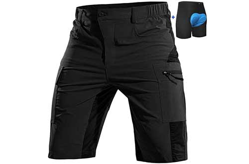 Cycorld Padded Mountain MTB Biking Shorts for Men