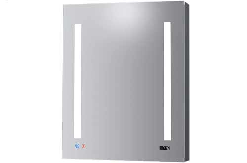 DECADOM LED Recessed Medicine Cabinets with Mirror