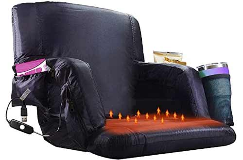 Blufree Heated Stadium Chair for Bleachers
